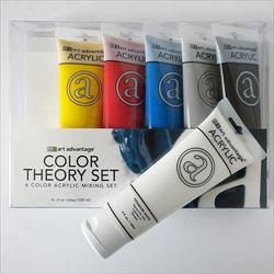 Art Advantage Acrylic Color Theory Set