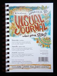 Strathmore Visual Journal - 90lb Cold Press Watercolor Paper
