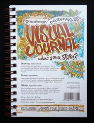 Strathmore Visual Journal - 100lb Drawing Paper