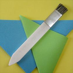 Bone Folder & Burnisher with Brush End