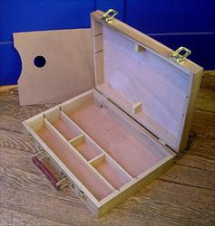 Wood Palette Sketch Box Medium