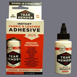 Tear Mender Instant Fabric & Leather Adhesive 2 oz (60 ml(