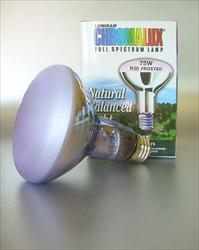 Chromalux Full Spectrum Light Bulb - 75W Reflector