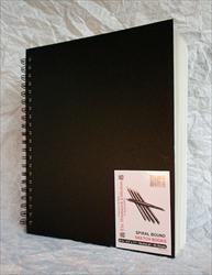 Borden & Riley Black Wire Bound Sketch Book - The Woodward Collection