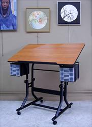 Craftmaster Table with Black Base