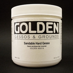 Golden Acrylic Sandable Hard Gesso