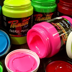 Permaset Aqua Fabric Magic Supercover Screenprinting Inks