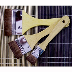 Royal & Langnickel Large Area Artist Brush Set - Three Brown Camel Hair Brushes