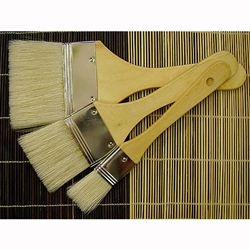 Royal & Langnickel Large Area Artist Brush Set - White Bristle with Short Handles