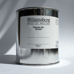 Williamsburg Artist Oil Mediums - Titanium Oil Ground