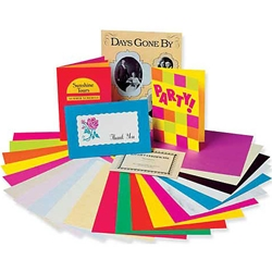 Pacon Black Card Stock Pack of 100 each - 8-1/2 x 11 inch