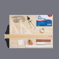 Alvin SD404 Drawing Kit with 16 x 21 Board