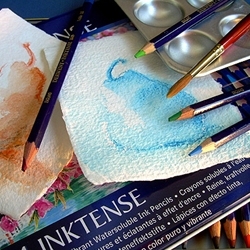 Inktense Watersoluble Ink Pencils (Open Stock) by Derwent
