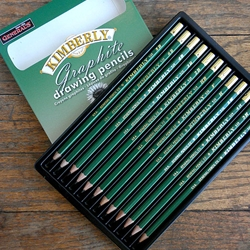Generals KIMBERLY Graphite Drawing Pencils 12 Assorted Degrees