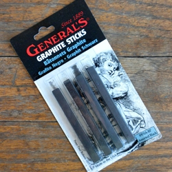 Generals Kimberly Compressed Graphtie Sticks Square Assorted