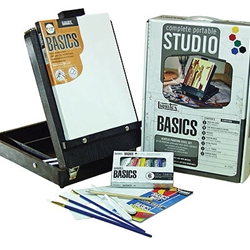 Liquitex Basics Easel Box Set