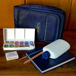 Winsor & Newton Cotman Watercolour - Sketchers Case Set