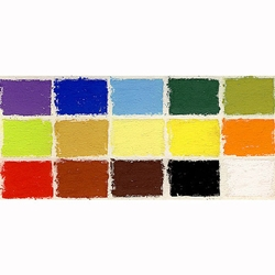 Rembrandt Pastels - Set of 15 Assorted Full Sticks