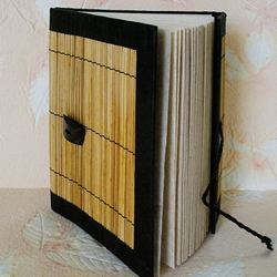 Nepalese Bamboo Cover Journal