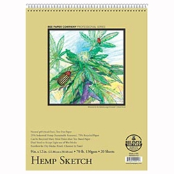 Tree-Free Premium Hemp Sketch Paper