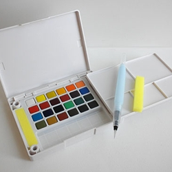 Koi Watercolor Pocket Field Sketch Box