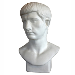 Roman Youth Bust - Plaster Cast