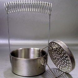 Basic Metal Brush Washer with Brush Spring