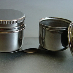 Stainless Steel Palette Cup - Double Cup