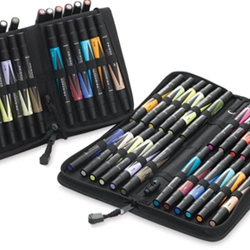 Prismacolor Art Marker Set - 48 Color marker Set With Case
