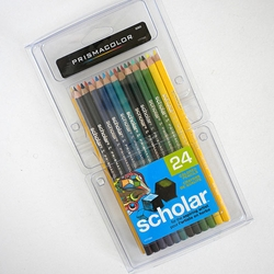 Prismacolor Scholar Colored Pencil Set of 24