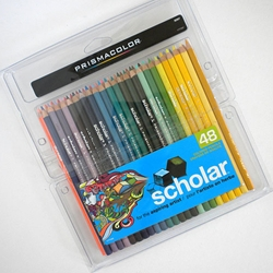 Prismacolor Scholar Colored Pencil Set of 48