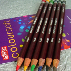 Derwent Coloursoft Pencils Set of 6
