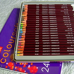 Derwent Coloursoft Pencils Set of 24