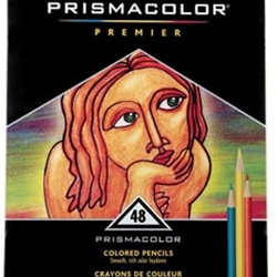 Prismacolor Premier Thick Core Colored Pencil's Set of 48