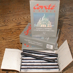 Conté Compressed Charcoal