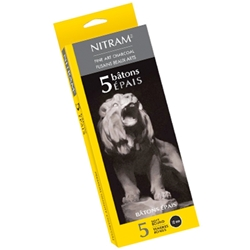 Nitram Fine Art Extra Soft Charcoal