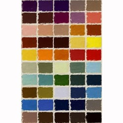 Girault Soft Pastel Sets - Claude Texier #2 Set - Set of 50 Pastels