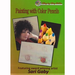 Painting with Color Pencils Featuring Sari Gaby DVD