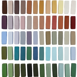 Terry Ludwig Pastels Plein Air Landscape Set of 60