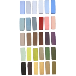 Terry Ludwig Soft Pastels 30 Basic Landscape Set