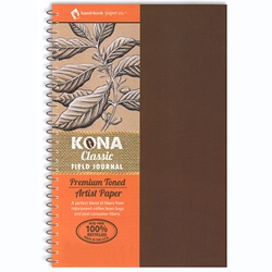 Kona Classic Field Series Wiro Hard Covered Journals - 130gsm (88lb)