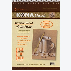 Kona Classic Micro Perforated Pads 130gsm (88lb)