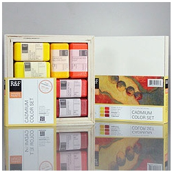 R&F Cadmium Color Set