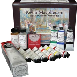 Gamblin Kevin Machperson Plein Air Artist's Oil Color & Mediums Set