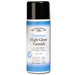 Winsor & Newton Dammar High Gloss Varnish - 10.65oz