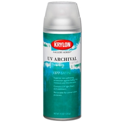 Krylon UV Archival Varnish - Satin - 11oz