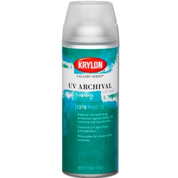 Krylon UV Archival Varnish - Matte - 11oz