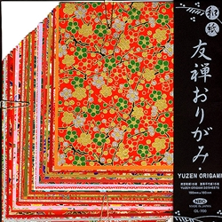 Yuzen Origami LARGE Set of 30 Chiyogami Papers