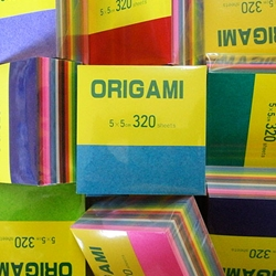 "Origami Paper - 320 Solid Color Sheets 2"" (5cm) Square"