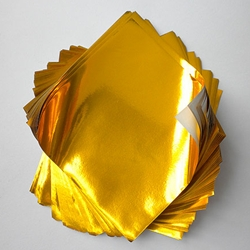 "Foil Origami Paper - Gold 3.5"" Square 100 Sheets"